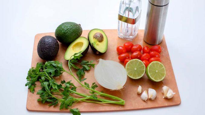guacamole ingredienti