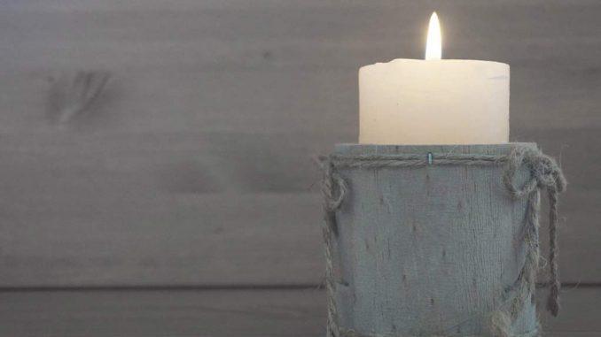 Le candele profumate creano un atmosfera speciale