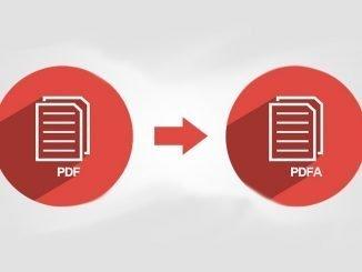 PDF in PDFa